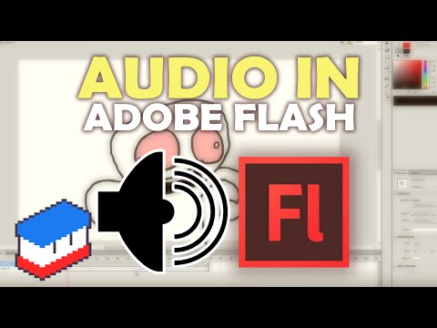 How to add audio to animations in Adobe Flash CS6