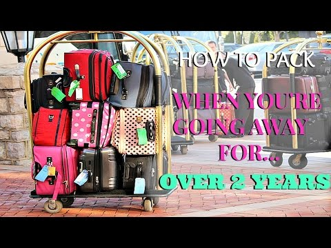 HOW TO PACK FOR LONG TERM TRAVEL- PEACE CORPS EDITION