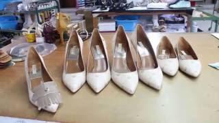 FERI Ladies Footwear Manufacturing Process/Processus de fabrication chaussures femmes FERI