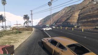 PC Grand Theft Auto V Gameplay 4K max settings NO AA