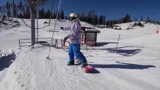 Как подниматься на подъемнике на сноуборде? Ловим бугель.