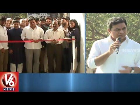 Minister KTR Launch Badi Baoli Step Well In Qutb Shahi Tombs | Hyderabad | V6 News