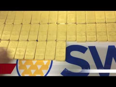 Biggest Gold Unveiling On YouTube - $3 Million Dollars Of Kilo Gold Bars