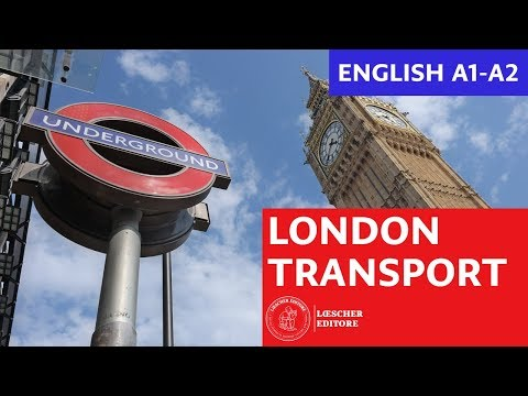 English - London transport (A1-A2)