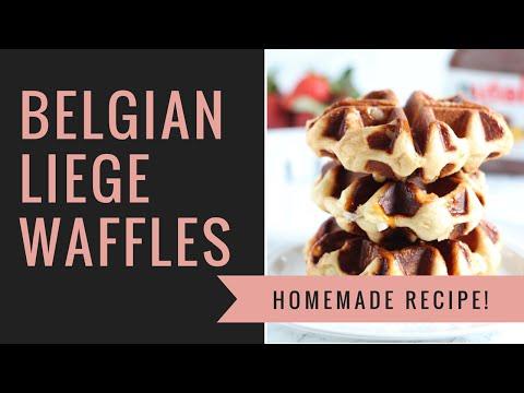 Belgian Liege Waffles | BEST Waffles Ever!!