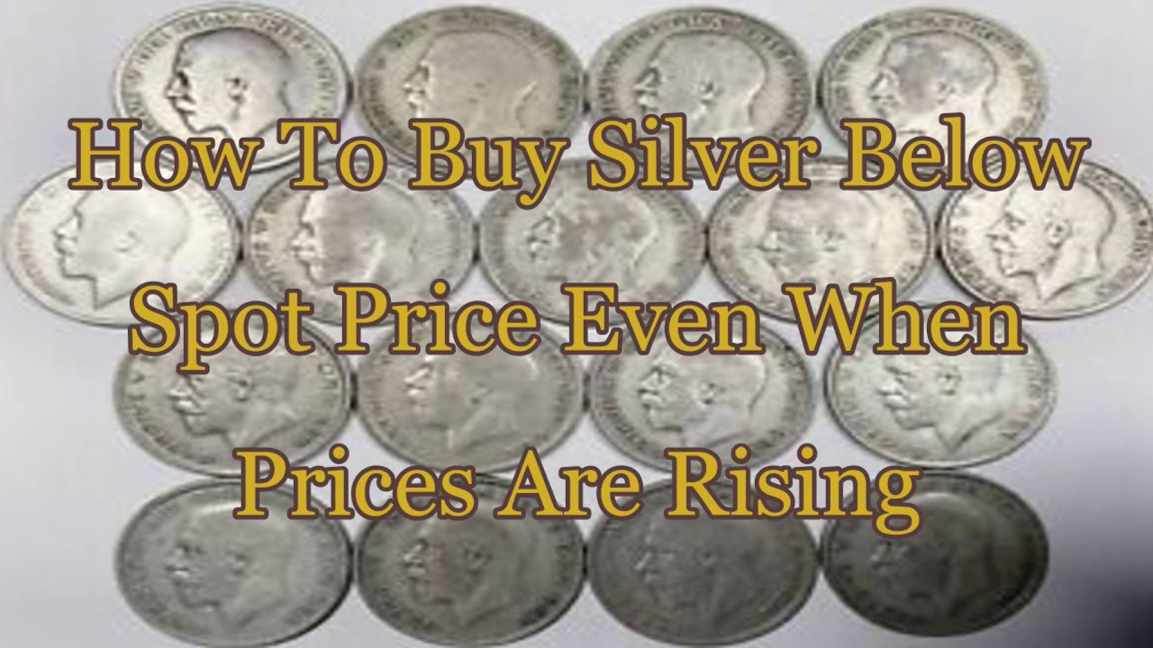 How To Silver Below Spot Price Even