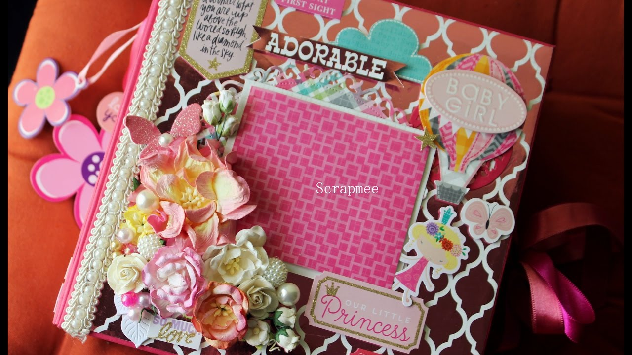 Baby Girl Photo Album Book Underfontanacountryinncom