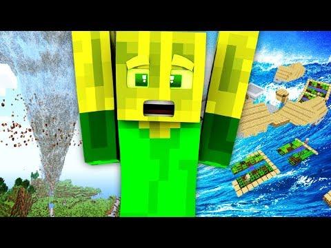 TORNADO und TSUNAMI?! - Minecraft WELTUNTERGANG