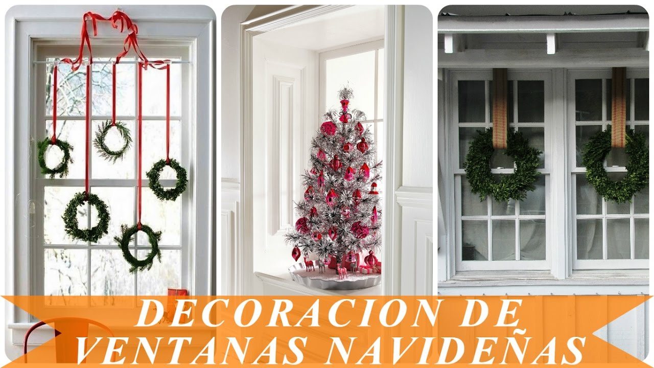 decoracion de ventanas navide as youtube
