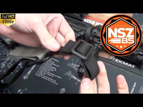 AR-15 - Vickers Sling Installation - Blue Force Gear