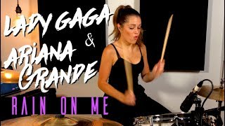 Lady Gaga & Ariana Grande - Rain On Me | DRUM COVER Domino Santantonio