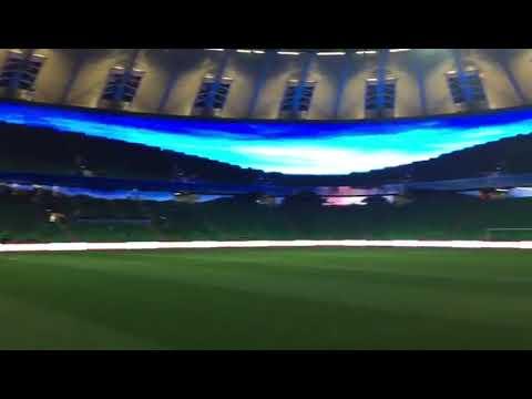 La increíble pantalla gigante del estadio de Krasnodar