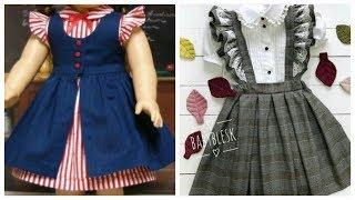 Latest kids -wool & Cotton Winter Frocks #styles for babies