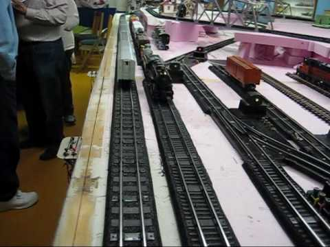 """All American Cab >> Ray Puls American Flyer """"S"""" Gauge Layout Part 1 - YouTube"""