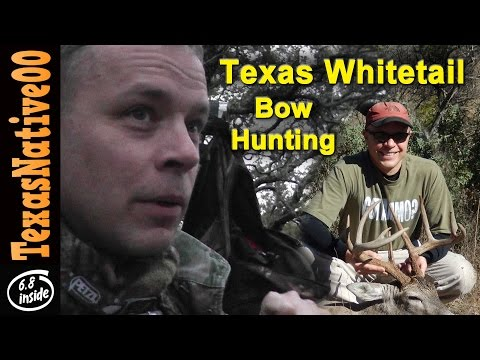 Bow Hunting for Trophy Texas Whitetail Deer