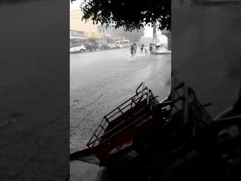 Muita chuva em Varjota hoje 10/01/2020