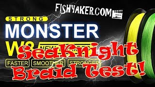 SeaKnight W8 Braid Fishing Line Test and Review - From Amazon.com: Episode 620