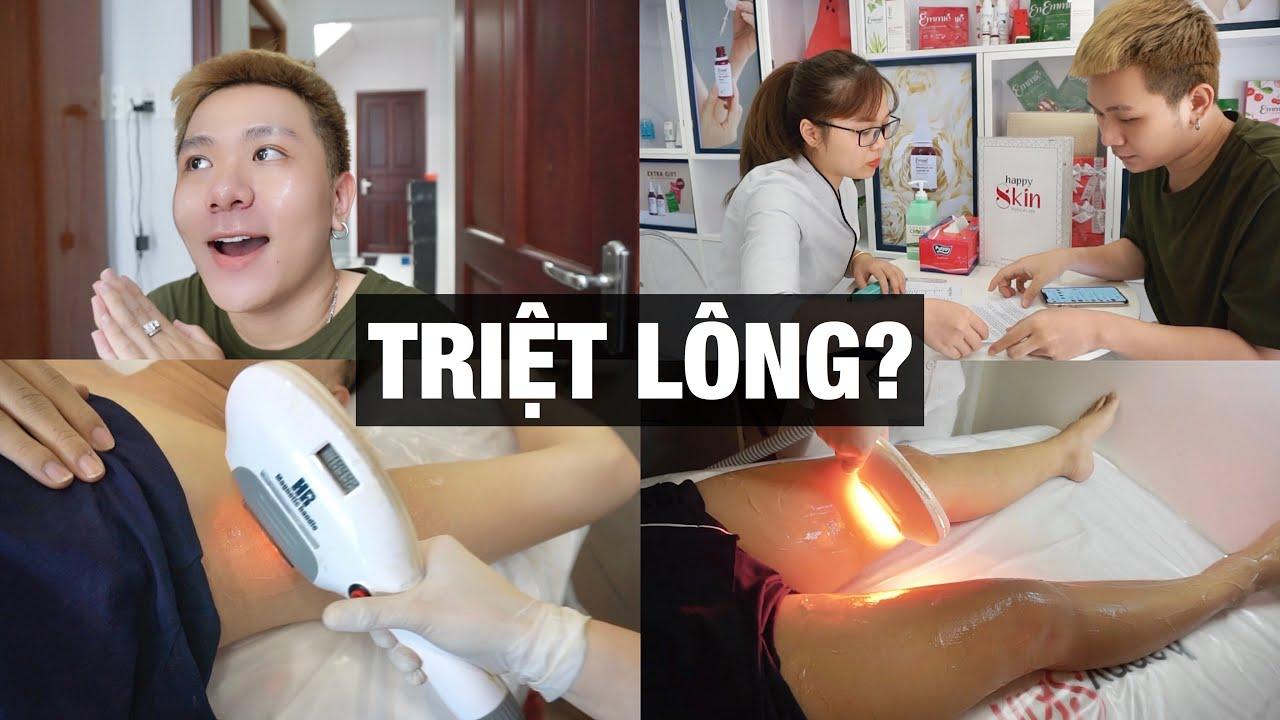 BEAUTY #9 | LẦN ĐẦU TIÊN TRẢI NGHIỆM TRIỆT LÔNG | Hair Removal Laser with Happy Skin Medical Spa 🌚