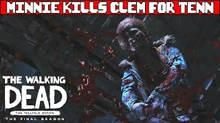 Minnie kills Clementine for Tenn - THE WALKING DEAD SEASON 4 EPISODE 4