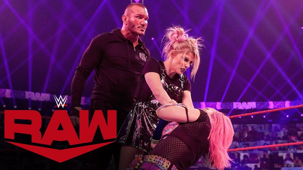 Asuka vs. Alexa Bliss – Raw Women's Championship Match: Raw, Jan. 25, 2021