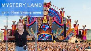 Notenboom student Noortje - liep stage bij dancefestival Mysteryland
