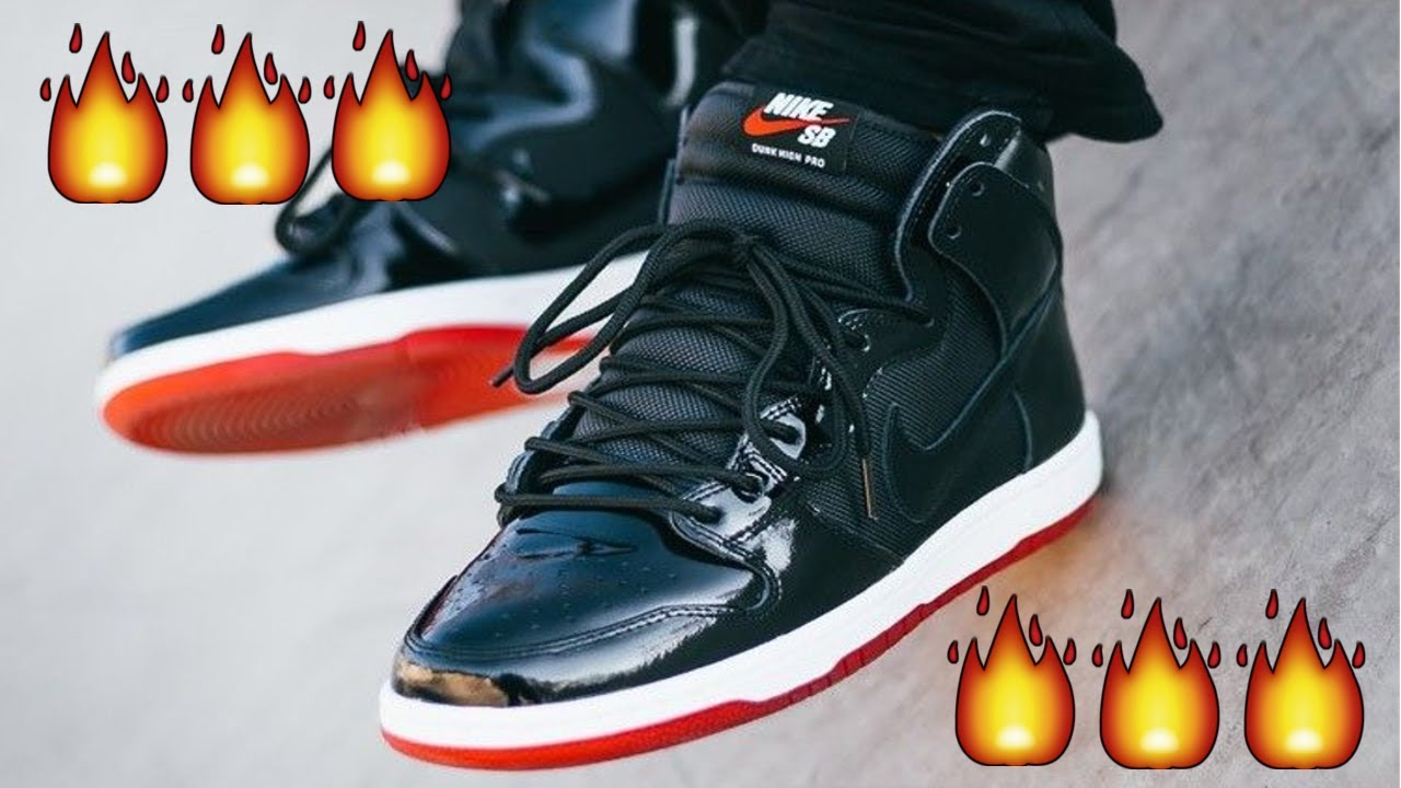BRED 11 x SB DUNKS ARE FIRE IN HAND!!!   Nike SB Dunk TR Rival   In Hand  Review!!! f1edbf51d
