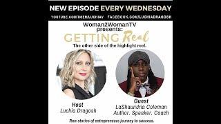 Author LaShaundria Coleman Interview with Woman2Woman Tv W/ Host Luchia Dragosh