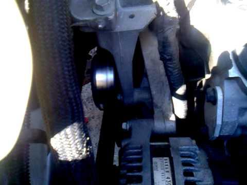 Chrysler Town & Country 2005 pulley alternator noise  YouTube