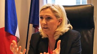 video: Marine Le Pen: 'All I need is a few more points to beat Macron at next election'
