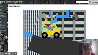 Happy Wheels   Unblocked Games For School! 2