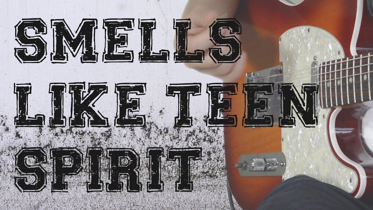 Nirvana Smells Like Teen Spirit Simple Guitar Tutorial Easy Rock