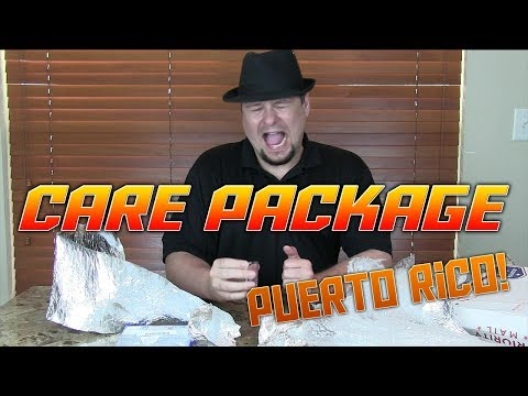 Care Package From Puerto Rico