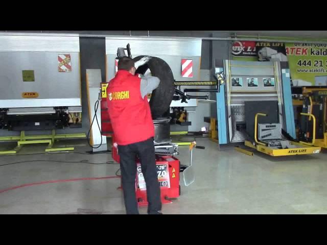 Atek Caruzo Full Otomatik Lastik Sökme Takma Makinası