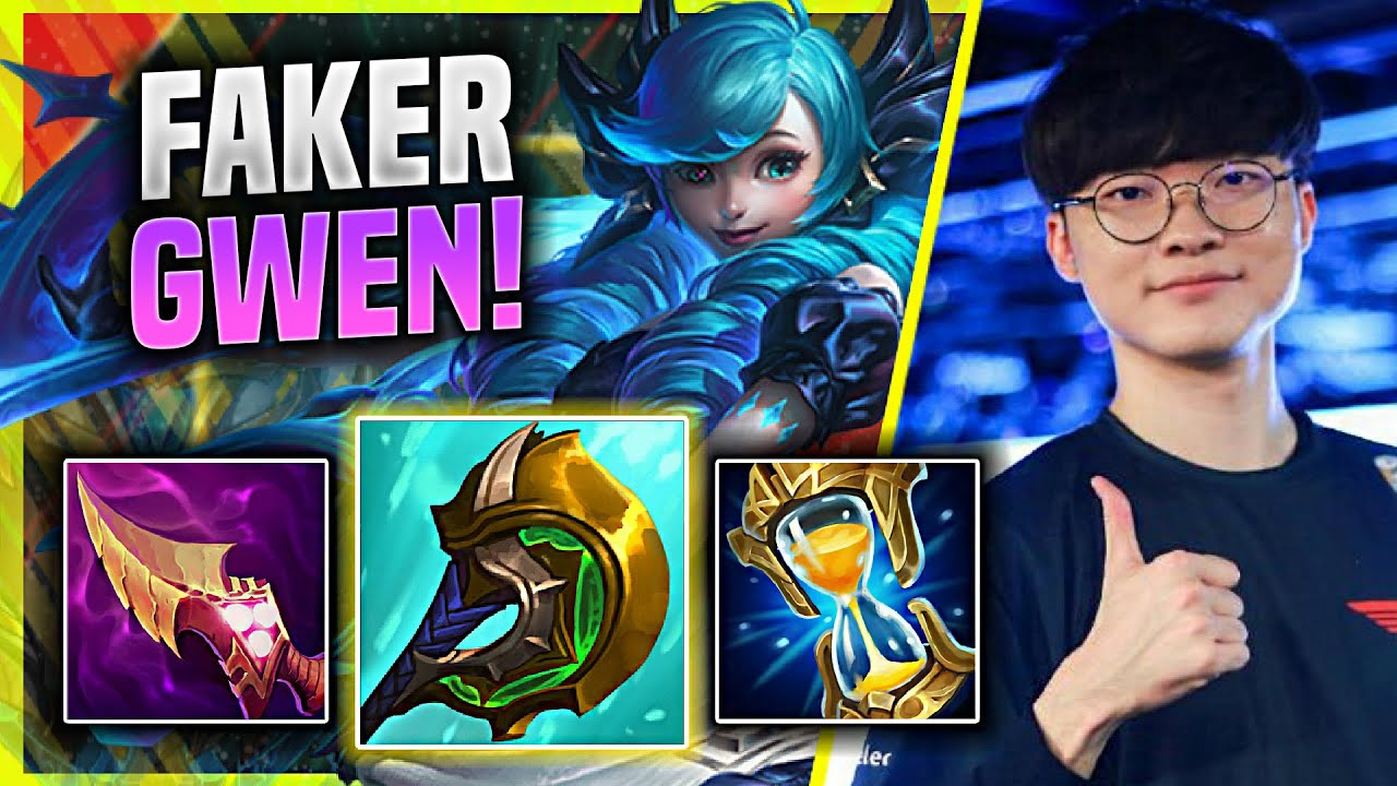WILL FAKER MAIN NEW CHAMPION GWEN NOW? - T1 Faker Plays Gwen MID vs Talon!   KR SoloQ Patch 11.8