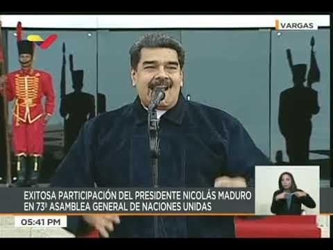 Palabras del Presidente Nicolás Maduro tras regresar al país luego de participar en la ONU