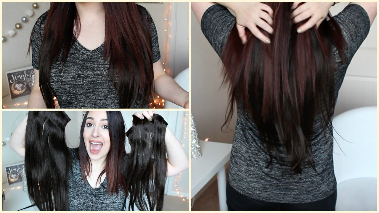 First Impression Irresistible Me Silky Touch Hair Extensions Youtube