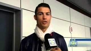 Cristiano Ronaldo le envió saludos al