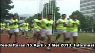 Pendaftaran bintara TNI AL tahun 2013