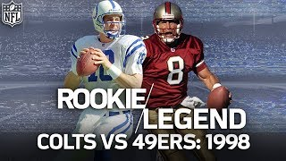 Rookie Peyton Manning Duels Steve Young in a Game Filled with Legends | NFL Highlights