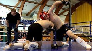 Patryk Przybyła (Fight Academy Ostrołęka) - Krystian Lenkiewicz (Fight Academy Ostrołęka)