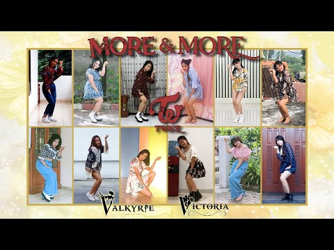 TWICE (트와이스) – 'MORE & MORE' || Dance Cover by VALKYRIE & VICTORIA DC from Indonesia