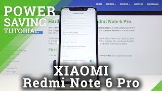 How to Activate Power Saving Mode in Xiaomi Redmi Note 6 Pro – Enable Battery Saver
