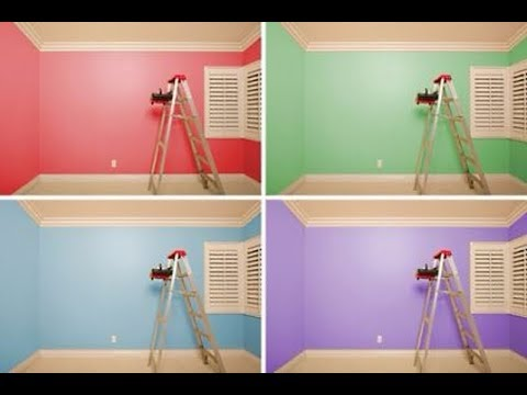 40 Home Painting Colors Design Ideas | Booth Tips And Tricks Sprayer Technique DIY Tutorial 2018