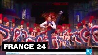 Le Moulin Rouge enregistre 3 records du monde en French Cancan - PARIS(Abonnez-vous à notre chaîne sur YouTube : http://f24.my/youtube FRENCH CANCAN - Le Moulin Rouge et sa célèbre troupe de danseurs et de danseuses sont ..., 2014-11-13T08:59:27.000Z)