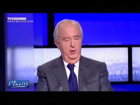 """Edouard Balladur""""L'Invité""""TV5MONDE 15/10/09"""