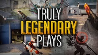 This Will Give You Goosebumps! Legendary & Iconic Pro Plays That Define CS:GO