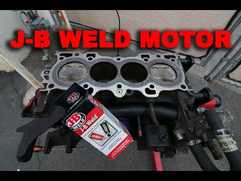 CAN YOU SLEEVE A MOTOR WITH JB WELD???