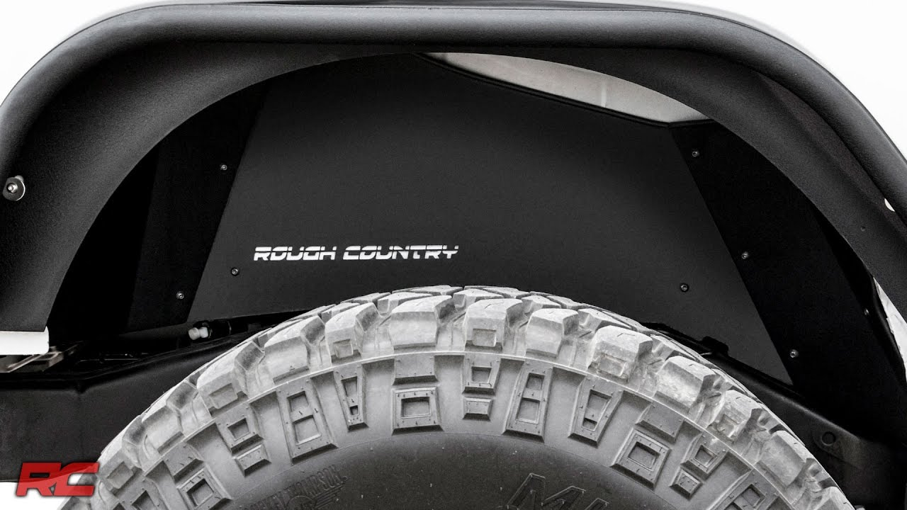 Jeep Wrangler Rear Inner Fender Liners By Rough