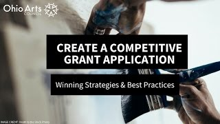 Create a Competitive Grant Application: Winning Strategies & Best Practices