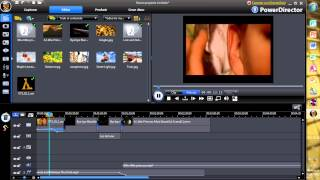 powerdirector video files